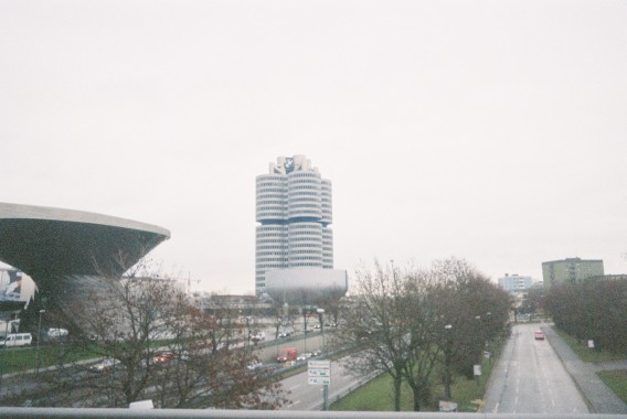 BMW HQ with BMW Welt