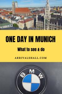 1 day in Munich