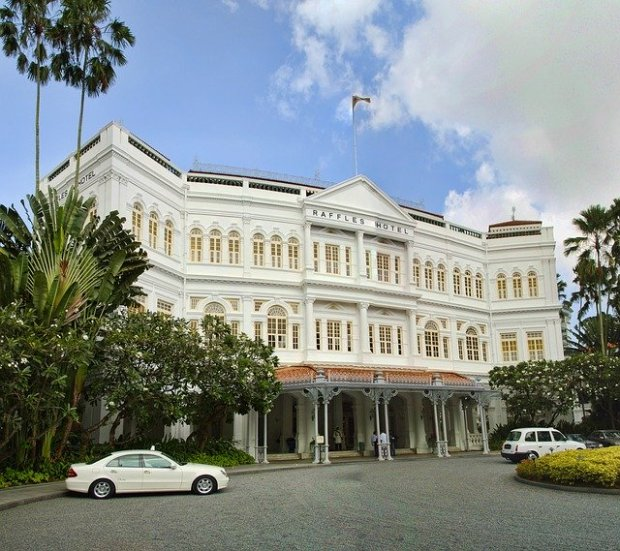 One Day in Singapore Raffles Hotel