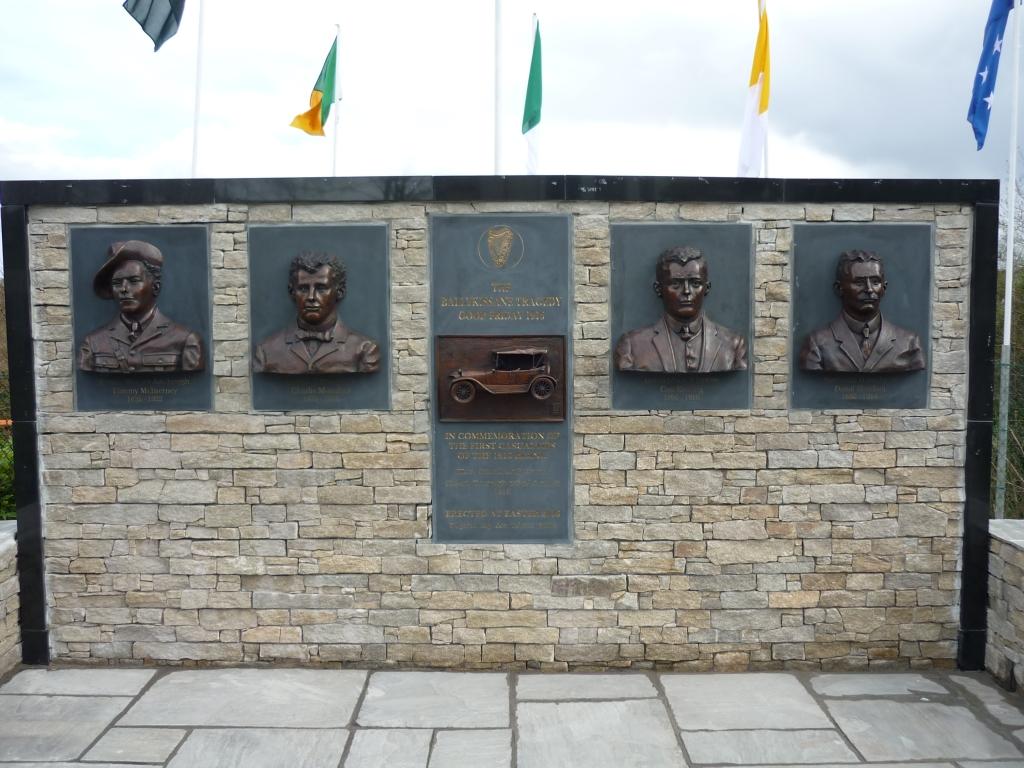 Ballykissane monument New Line Killorglin Kerry Ireland