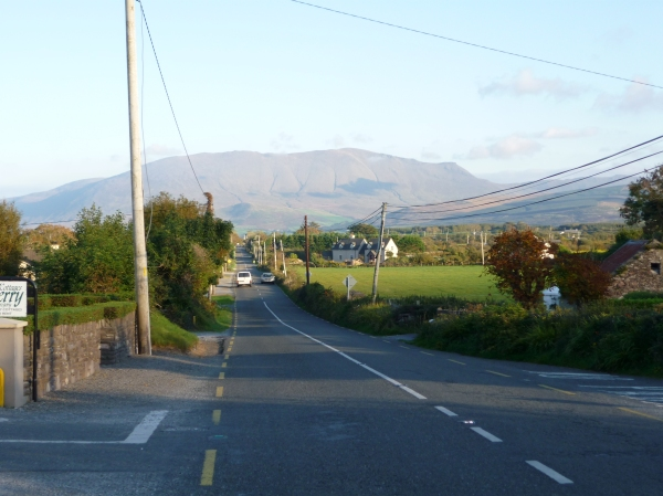Straight road from Castlegregory to Tralee