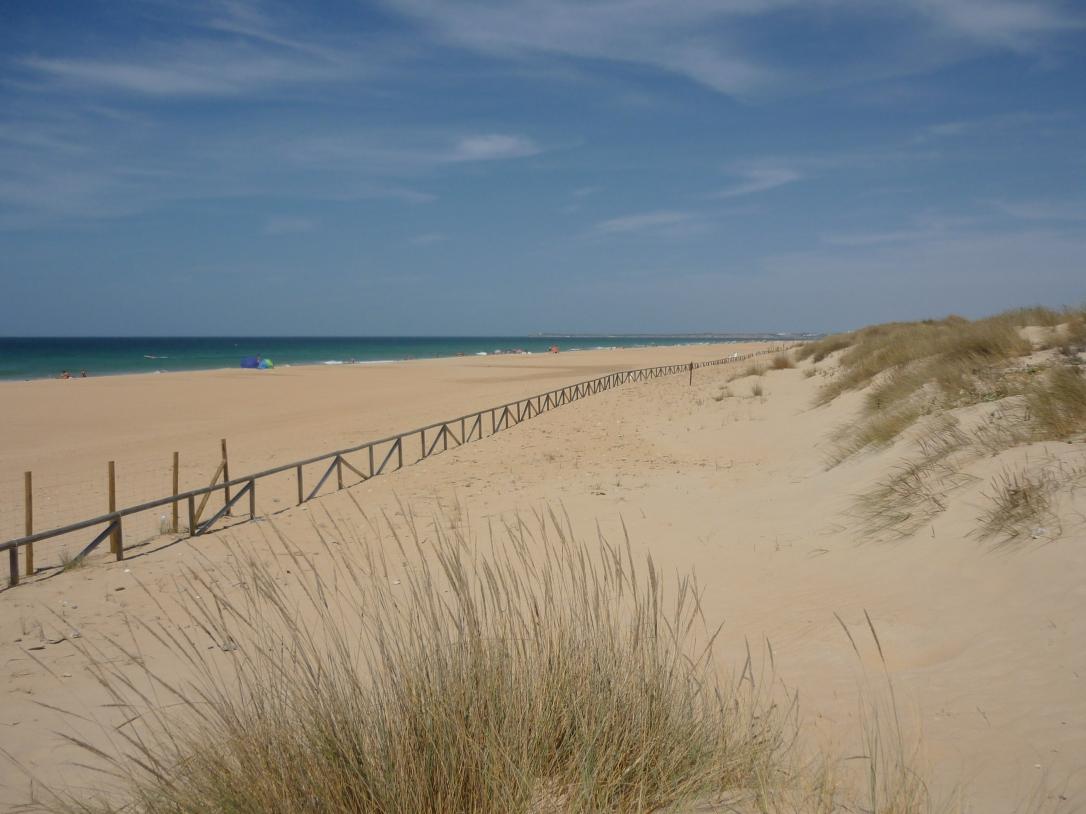 El Palmar north beach Cadiz province Spain Costa de la Luz