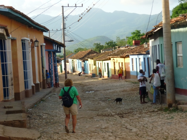 Trinidad Cuba Sierra del Escambray view