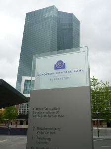The current ECB HQ Frankfurt