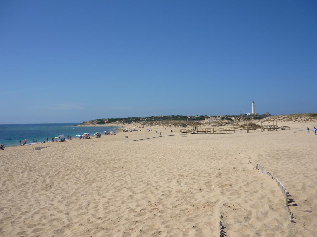 Playa de los Caños de Meca Trafalgar Cape Lighthouse Spain Costa de la Luz