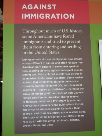 The story of immigration on Ellis Island
