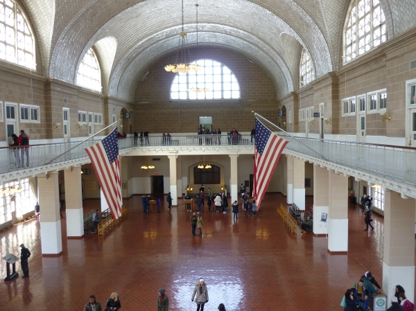 The Registry Room Ellis Island New York