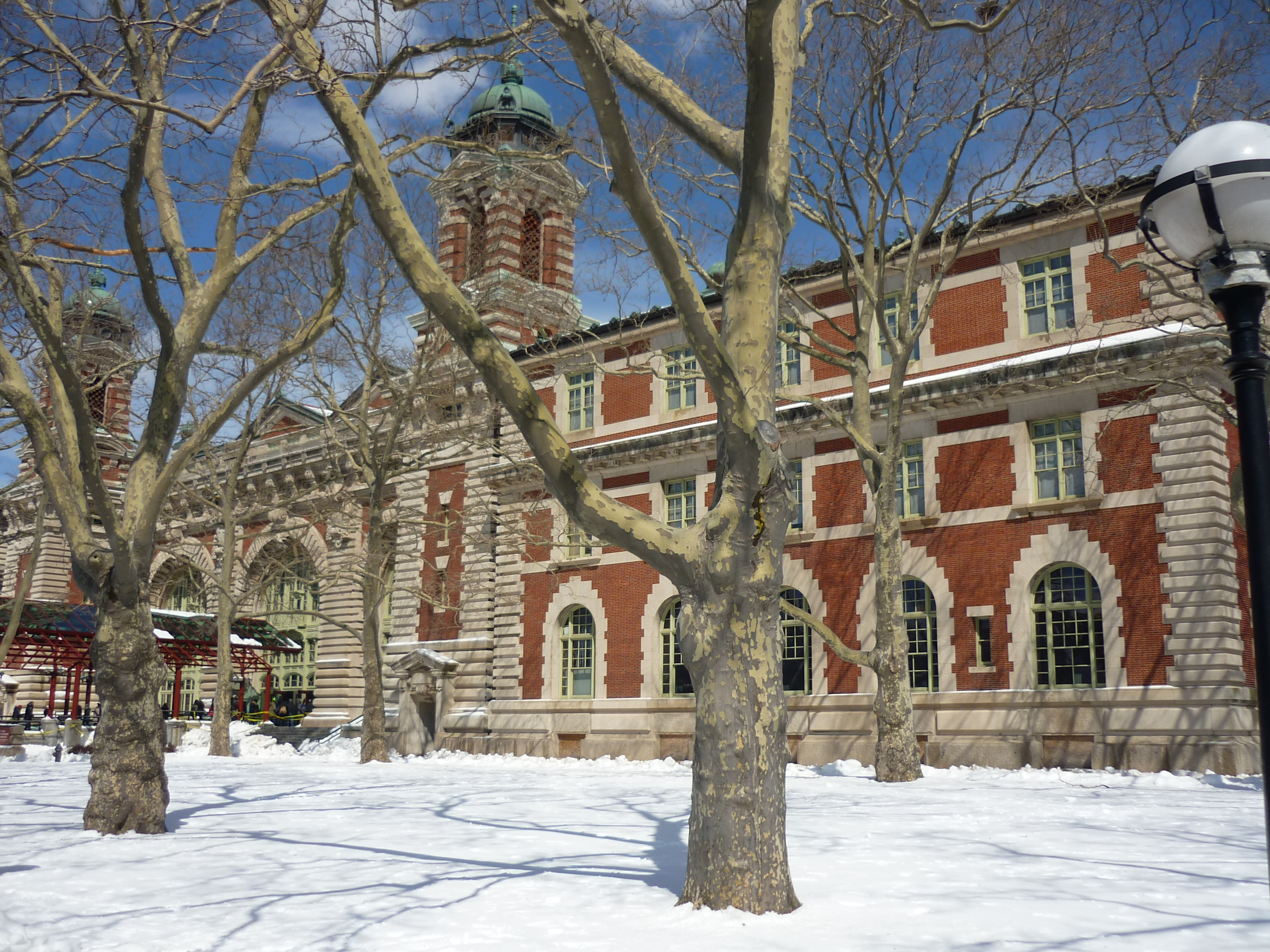 Entrance to main Ellis Island Building Entrance to main Ellis Island Building New York