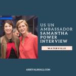Samantha Power interview