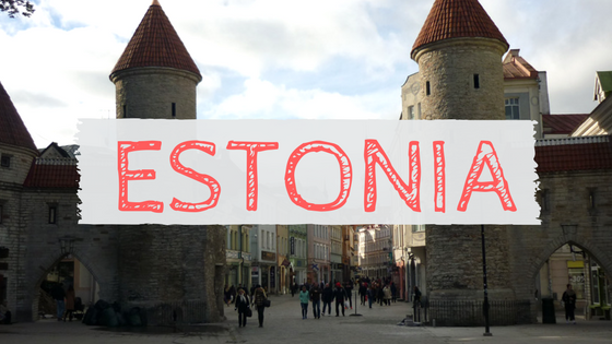 Estonia Tallinn Viru Gate travel blog