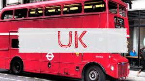 UK London Red Bus travel blog