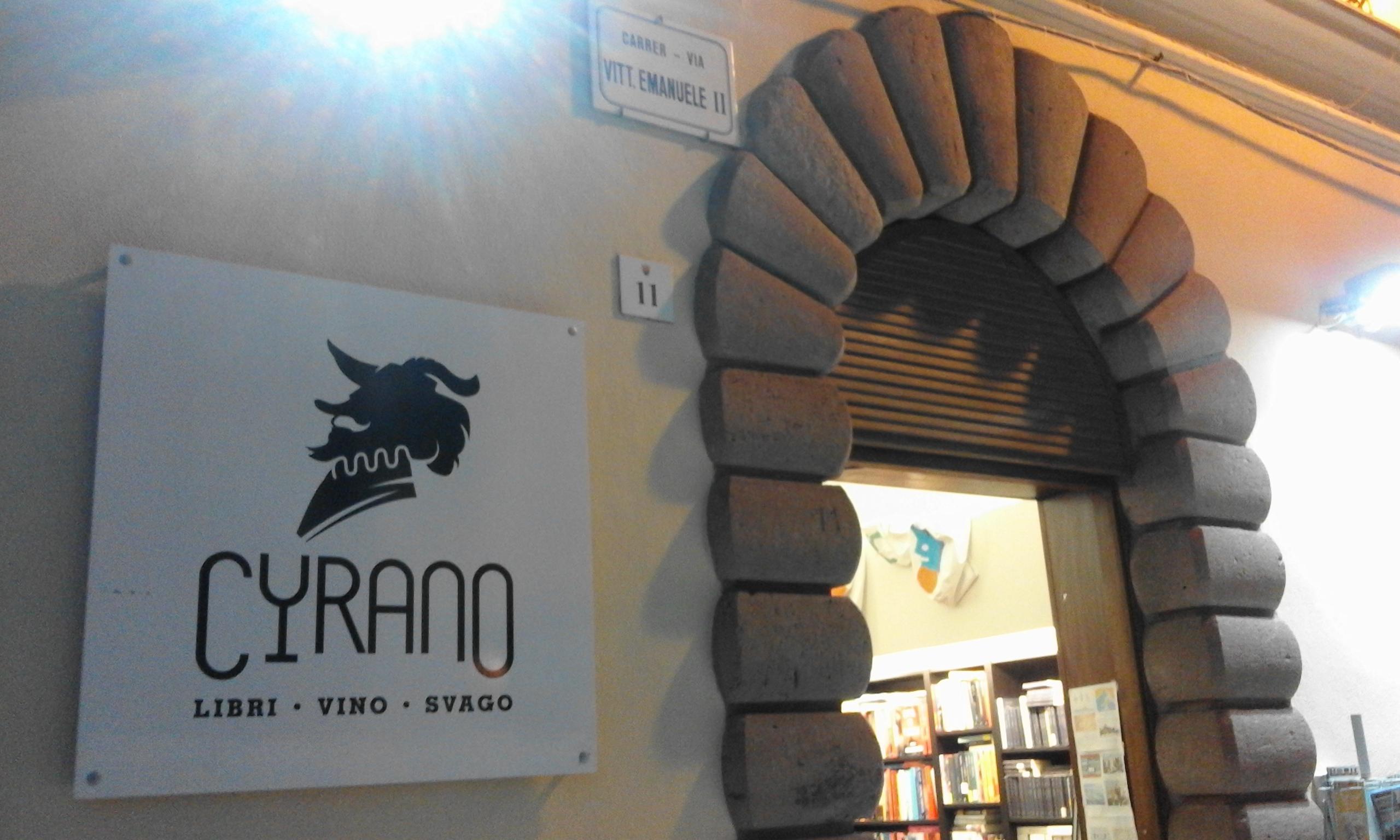 Cyrano bookshop Alghero Sardinia Italy