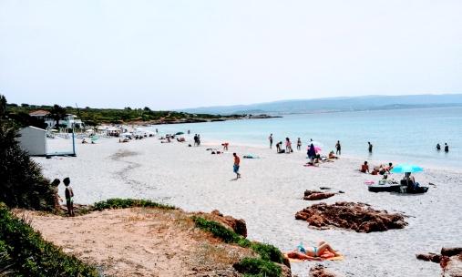 Bombarde beach Sardinia Italy