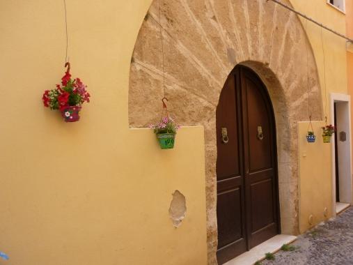 Alghero Old Town architecture Sardinia Italy