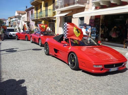Ferrari Festival in Santa Teresa di Gallura Sardinia