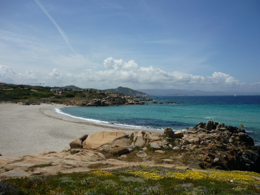 Santa Reparata beach Sardinia Italy