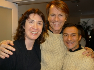 With Don O'Neill & Pascal Guillermie
