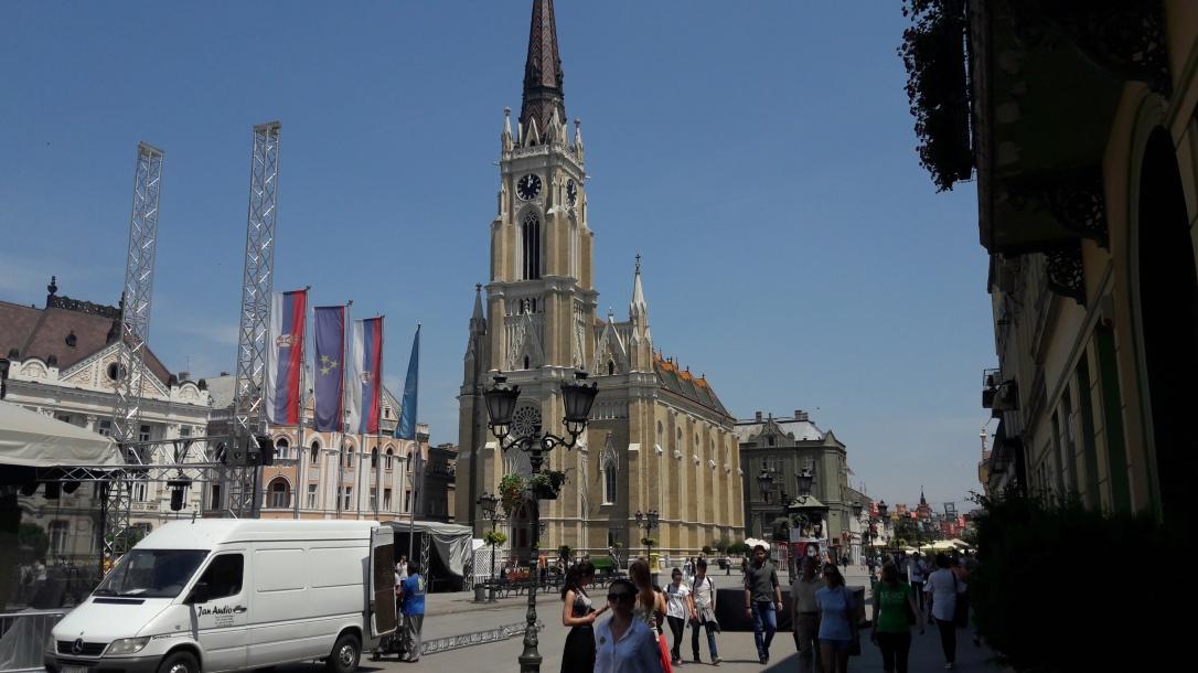 Church of the Name of Mary on Freedom Square Novi Sad