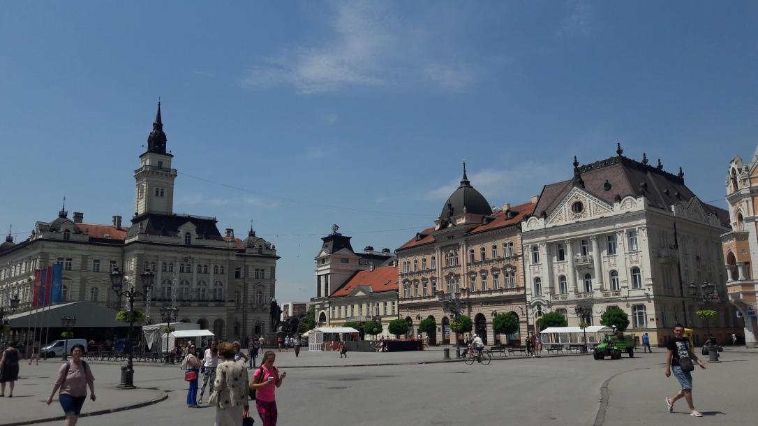 Freedom Square Novi Sad