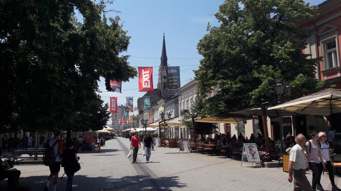 Novi Sad preparing for EXIT festival