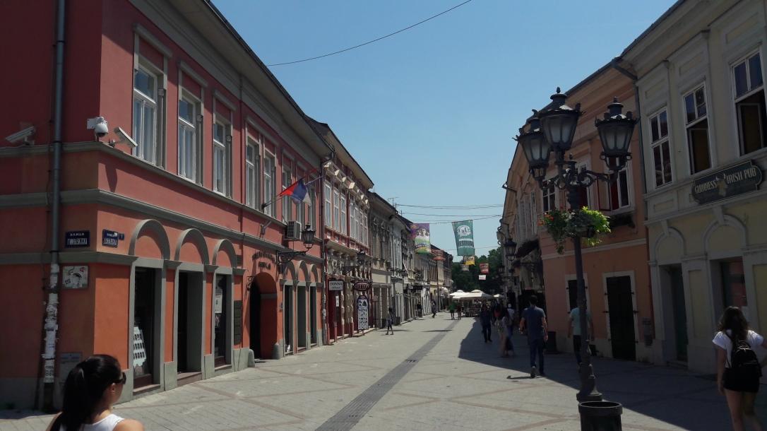 Dunavska Street Novi Sad