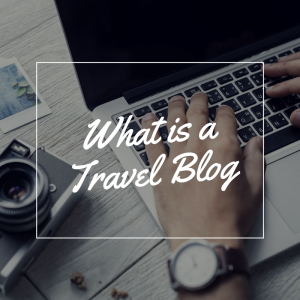 What is a travel blog