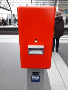 Ticket validation machine Germany