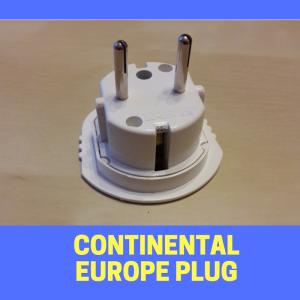 Continental Europe plug