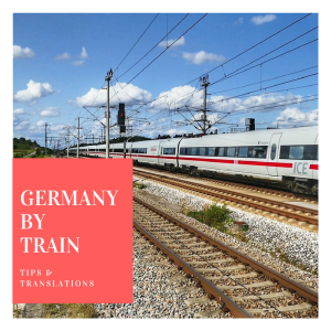 Germany by train