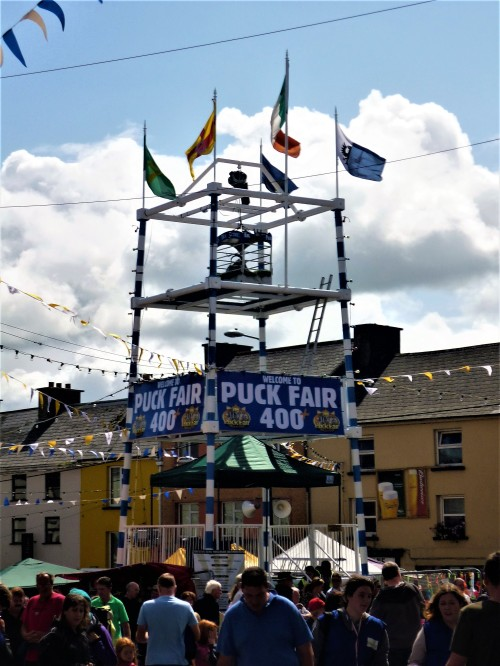 Puck Fair Stand Killorglin