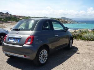Fiat 500 rental