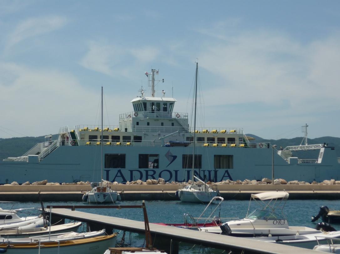 Jadrolinja ferry from Orebić to Korčula