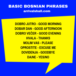 Basic Bosnian phrases