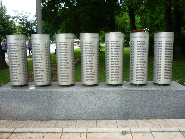 Sarajevo Memorial for Children Killed During the Siege