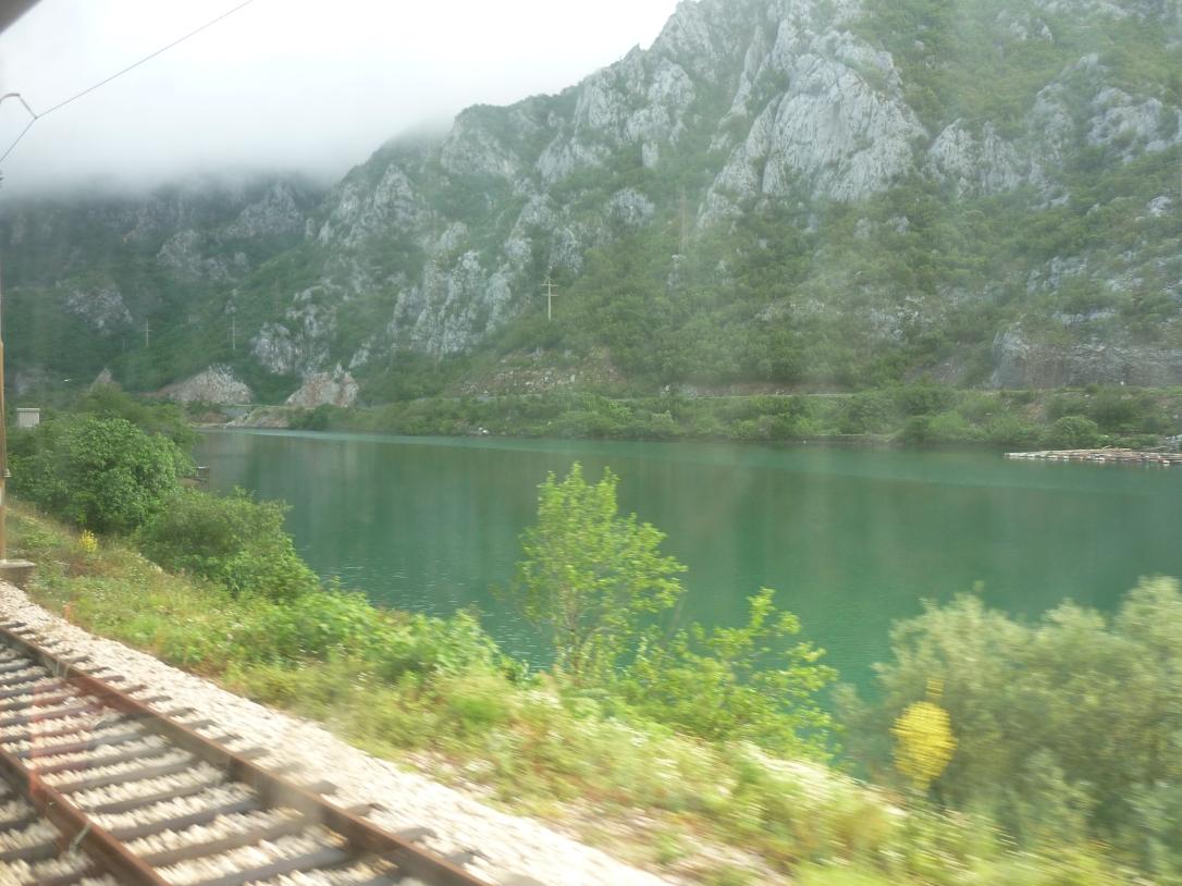 Mostar to Sarajevo train
