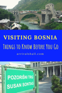 Visiting Bosnia