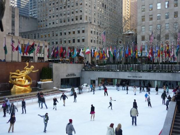 Ice Rink Rockefeller Centre