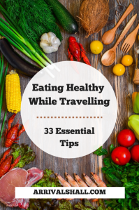 Eating healthy while travelling
