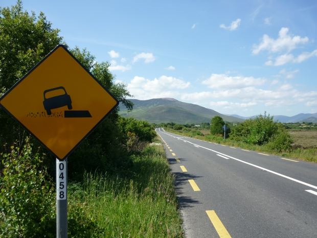 Ring of Kerry road Killorglin to Glenbeigh
