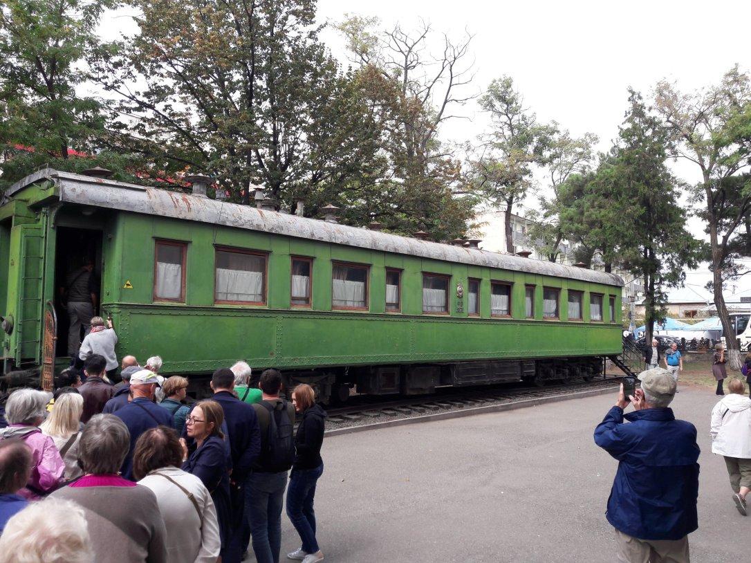 Stalin Museum Yalta train carriage