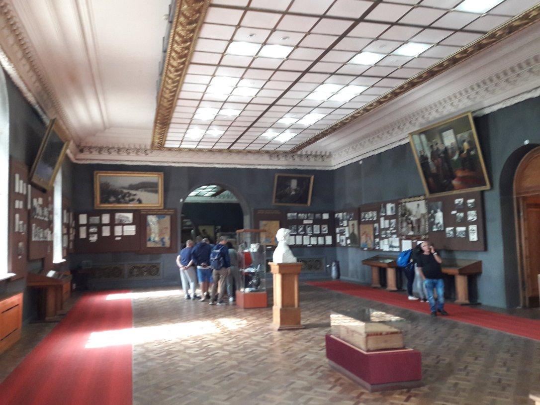 Stalin Museum interior Gori