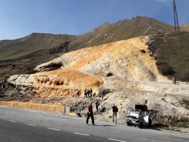 Jvari Pass Mineral Springs