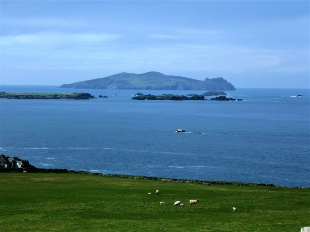 Île d'Inis Tuaisceart Blasket Islands voyage en Irlande