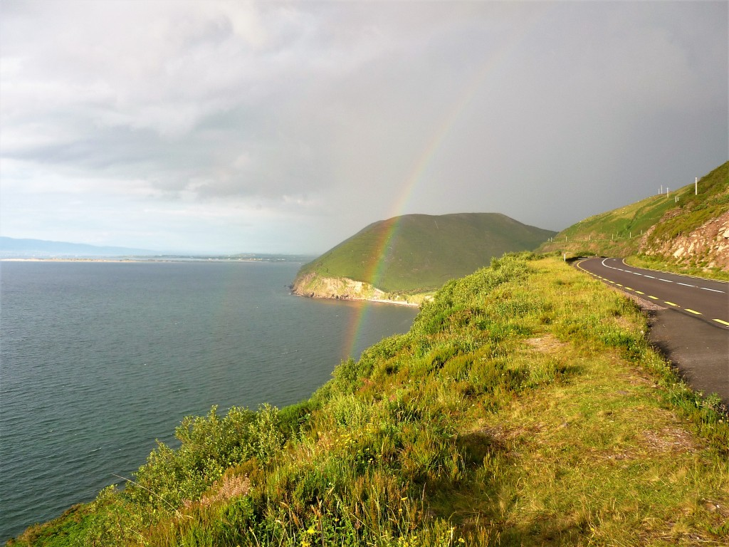 Arc en ciel voyage en Irlande