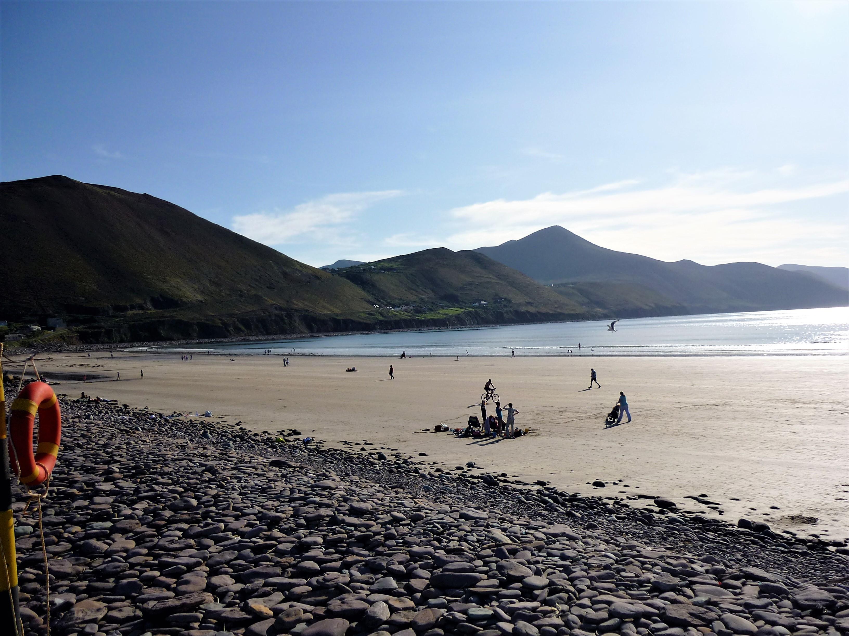 Rossbeigh Beach Kerry Ireland