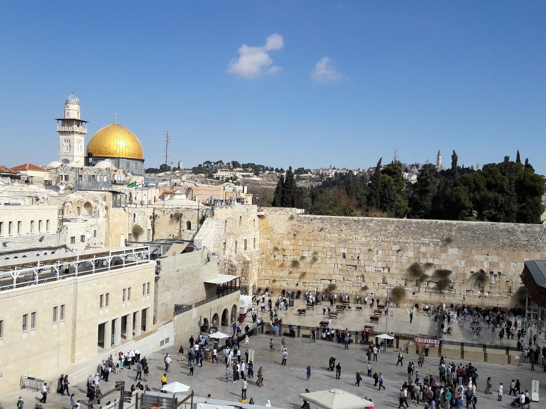 Western Wall and Haram Al Sharif complex
