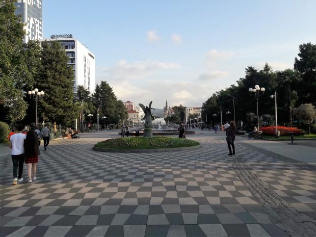 Batumi Boulevard Fountains