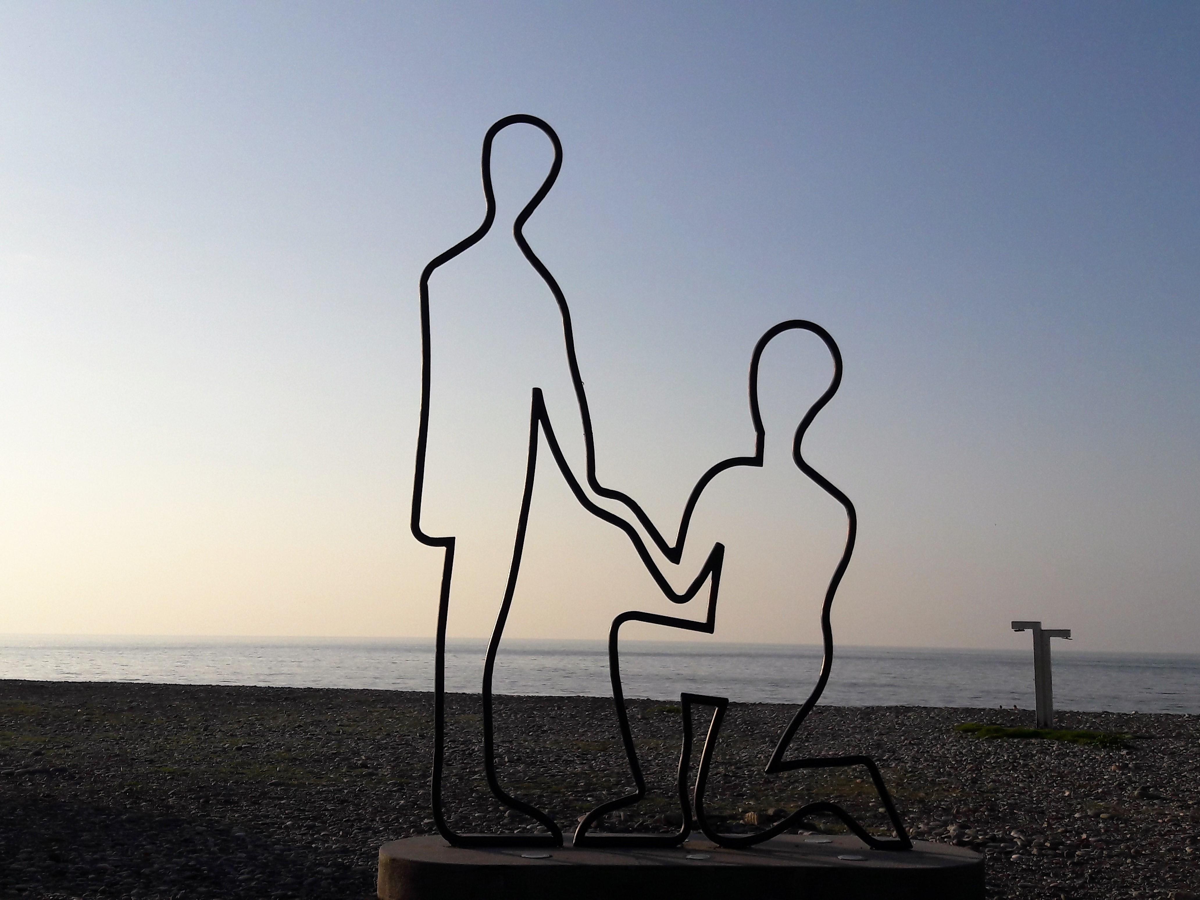Batumi Lovers art installations