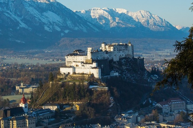 solo female travel destinations Salzburg Austria