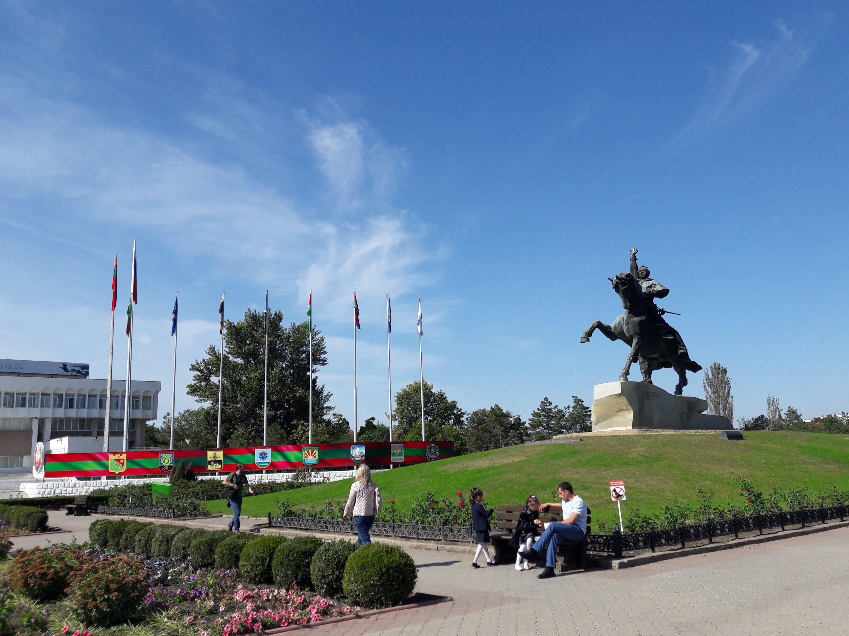 Alexander Suvorov monument Tiraspol